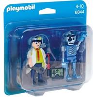 Duopack uitvinder en robot Playmobil