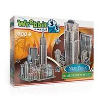 Puzzel Wrebbit Midtown West New York 3d: 900 stukjes