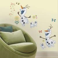 Muursticker Frozen Fever Roommates: Olaf 22x101 cm