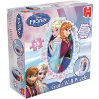 Puzzel Frozen Muur: 35 stukjes