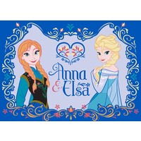 Disney Frozen Vloerkleed Anna & Elsa