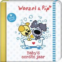 Boek Baby eerste jaar Woezel en Pip