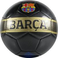 Bal barcelona leer groot zwart carbon