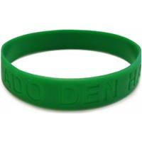 Armbandje rubber groen: glow in the dark