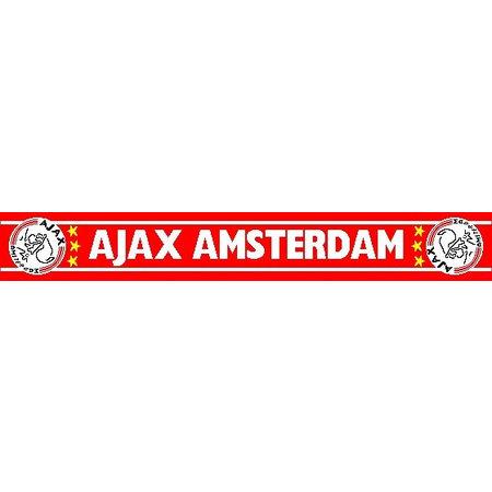 AJAX Amsterdam Sjaal ajax rood witte letters