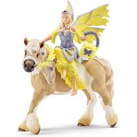 Sera in feestjurk te paard Schleich 70503