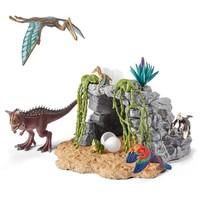 Dinosaurusset met grotnetto prijs Schleich 42261
