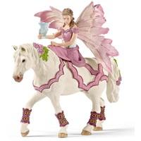 Feya in feestjurk te paard Schleich 70519