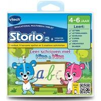 Storio boek Nino & Nina Vtech 3-6 jr