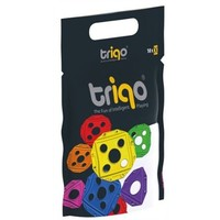 TriQo Booster pack vierkant paars: 10 stuks