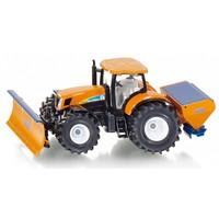 New Holand tractor met schuiver en strooier SIKU