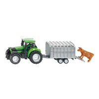 Tractor with Stock Trailer SIKU