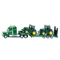 Low Loader with John Deere Tractors SIKU