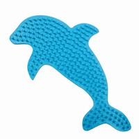 Strijkkralen bord SES dolfijn/orca
