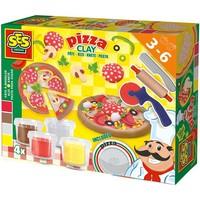 Klei pizza maken SES