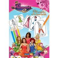 Prinsessia Kleurboek A4 bloemen