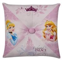 Disney Princess Kussen met knoop 36x36 cm