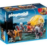Playmobil 6005 Camouflage hooiwagen van de Valkenridders