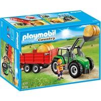 Playmobil 6130 Tractor met aanhangwagen