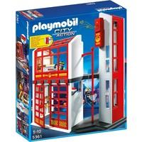 Playmobil 5361 Brandweerkazerne met sirene