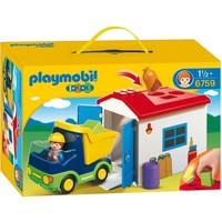 Vrachtwagen met garage Playmobil