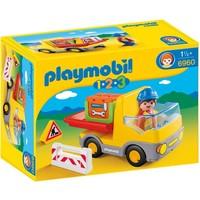 1.2.3 Vrachtwagen met laadklep Playmobil