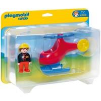 1.2.3 Brandweerhelikopter Playmobil