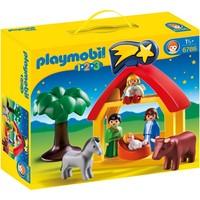 1.2.3 Kerststal Playmobil