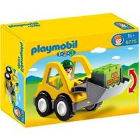 1.2.3 Graafmachine met werkman Playmobil