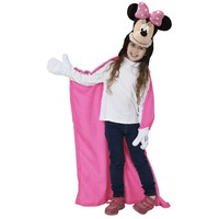 Disney Minnie Mouse Fleece deken capuchon 100 x 100