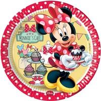 Bordjes Minnie Mouse 23 cm: 8 stuks