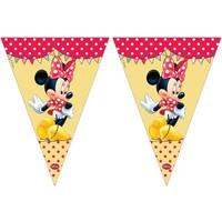 Vlaggenlijn Minnie Mouse: 3 meter