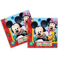 Servetten Mickey Mouse 33x33 cm: 20 stuks