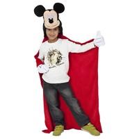 Disney Mickey Mouse Fleece deken capuchon 100 x 100