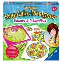 Flowers & Butterflies 2 in 1 Mandala Designer