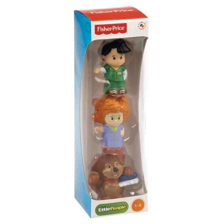 Little People Fisher-Price Little People Koker met 3 figuurtjes