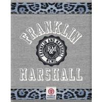 Schrift Franklin Marshall Girls grey A5 gelijnd