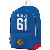 Rugzak Franklin Marshall blue 45x30x18 cm