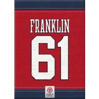 Schrift Franklin Marshall A4 gelijnd