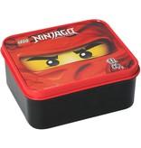 LEGO License Lunchbox Lego Ninjago: rood