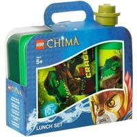 Lunchset LEGO Chima groen