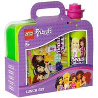 Lunchset LEGO Friends groen