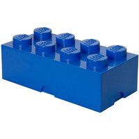 Opbergbox LEGO brick 8 blauw