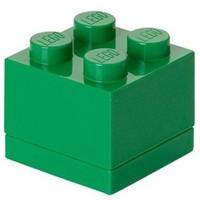 Opbergbox LEGO MINI brick 4 groen