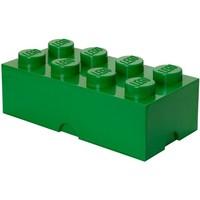 Opbergbox LEGO brick 8 groen