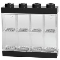 Opbergbox Lego: minifigs zwart 8-delig