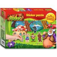 Kabouter Plop Puzzel met stickers 35 stukjes