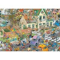 Puzzel JvH: Safari & Storm 2x1000 stukjes