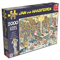 Puzzel JvH: Queued Up 2000 stukjes