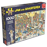 Puzzel JvH: Queued Up 1000 stukjes